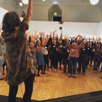 Gospel workshop med Heidi